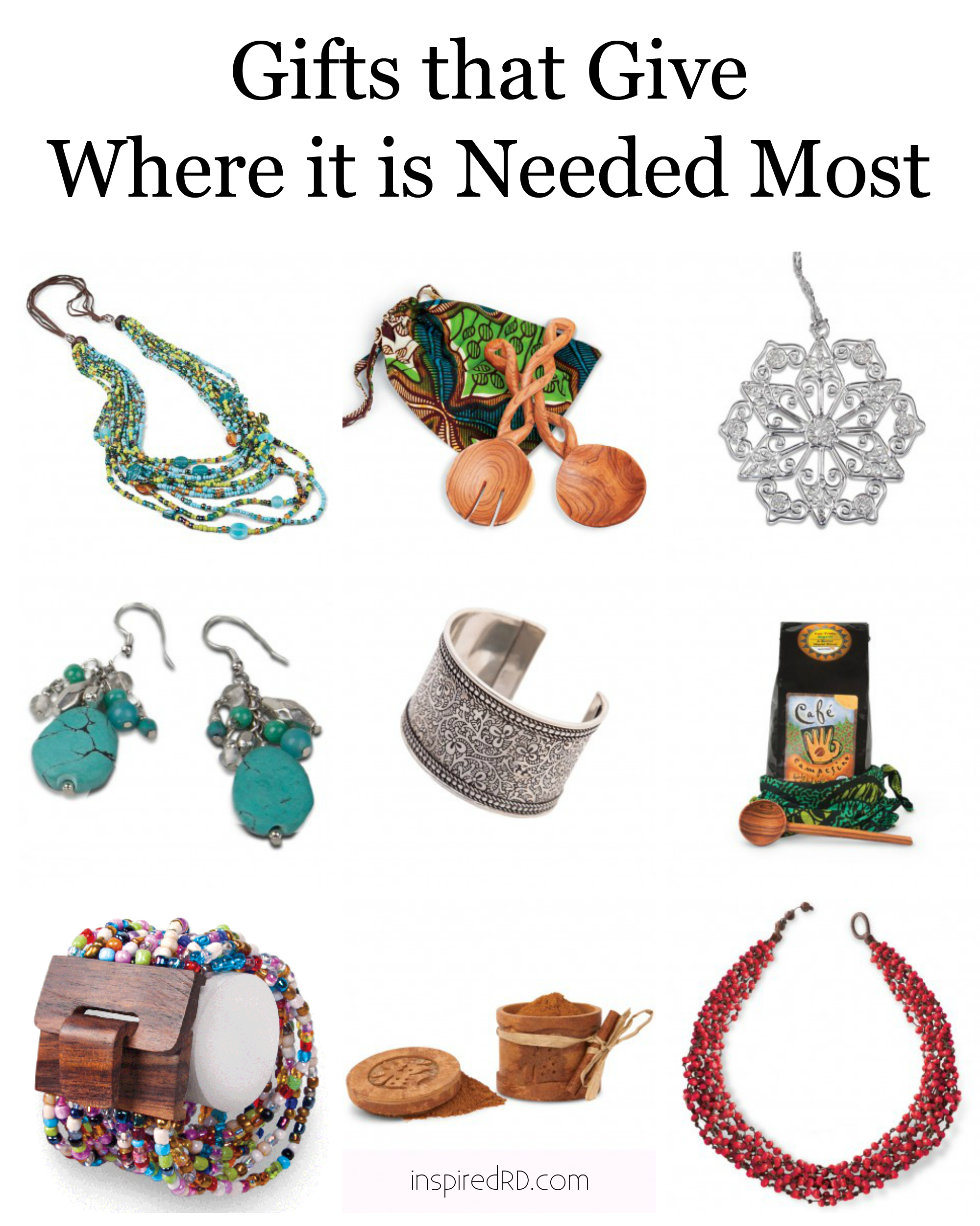 Gifts that Give Back Where it is Needed Most (Plus, a giveaway!)