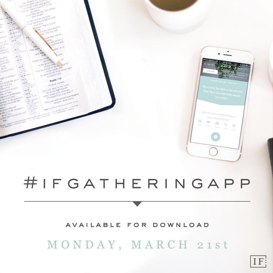 IF:Gathering App