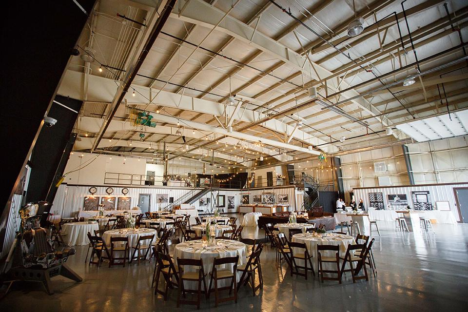 Venue in Warbird Factory Hangar