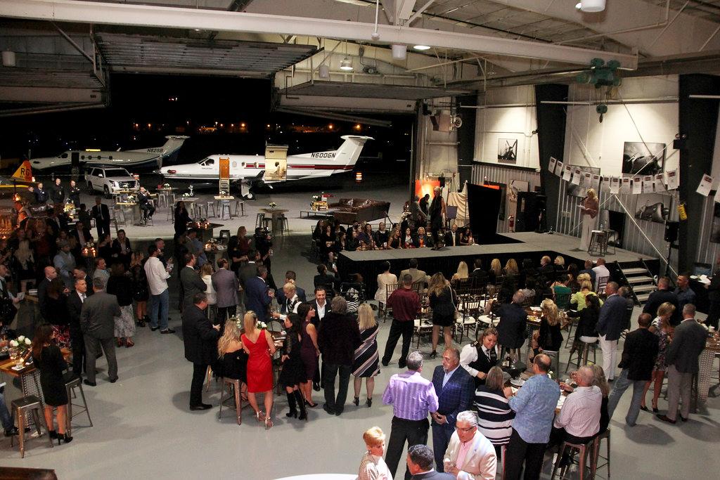Venue Fashion Show in Hangar