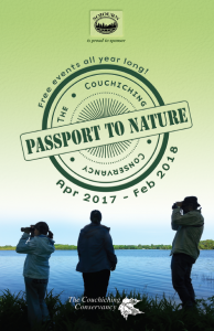 Cover of the Passport to Nature booklet