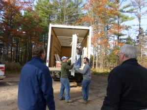Windows and Doors Arrive at Grant's Woods