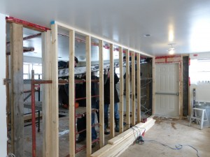 Installing New Beam In Community Room