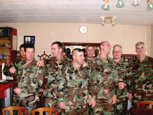 Army Rangers on deployment to the Normandy celebrations