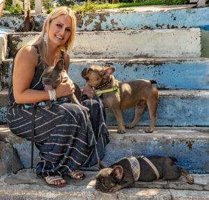 DBF Christal and Pups