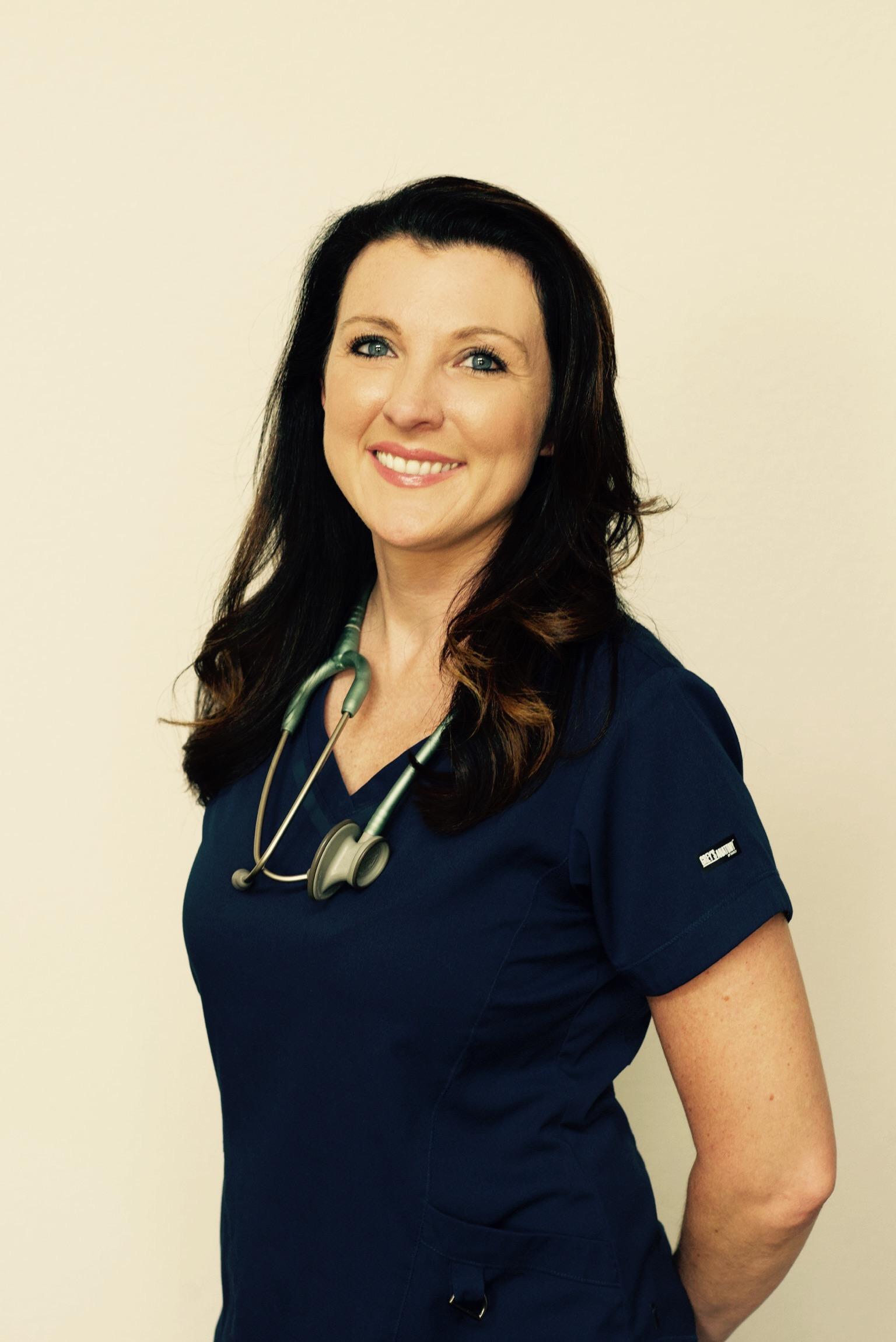 Staff Nurse Beth Purkey