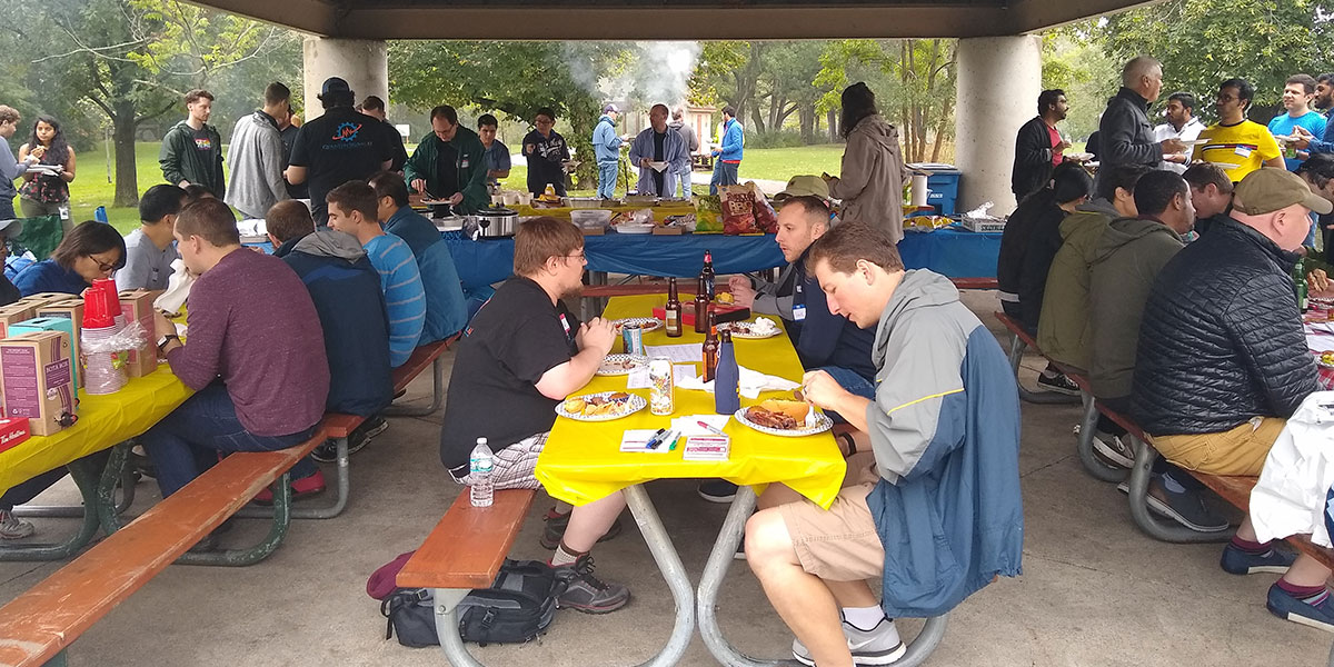 Picnic at Gallap Park with Ford Autonomous Vehicles, LLC