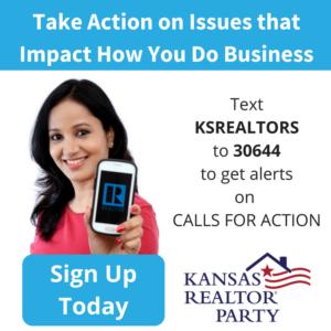 Kansas REALTOR® Party - Text KSREALTORS to 30644 to get alerts