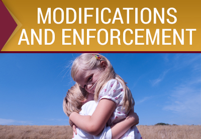 Modifications and Enforcement