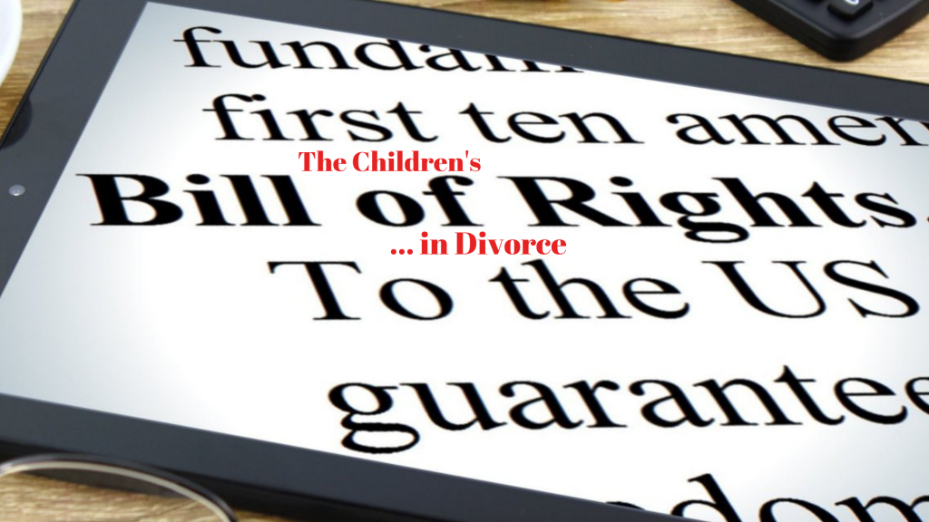 For Children in Divorce