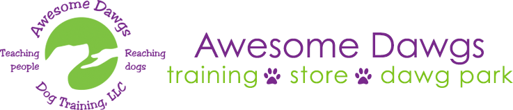 Awesome Dawgs Dog Training & THE DAWG STORE Logo
