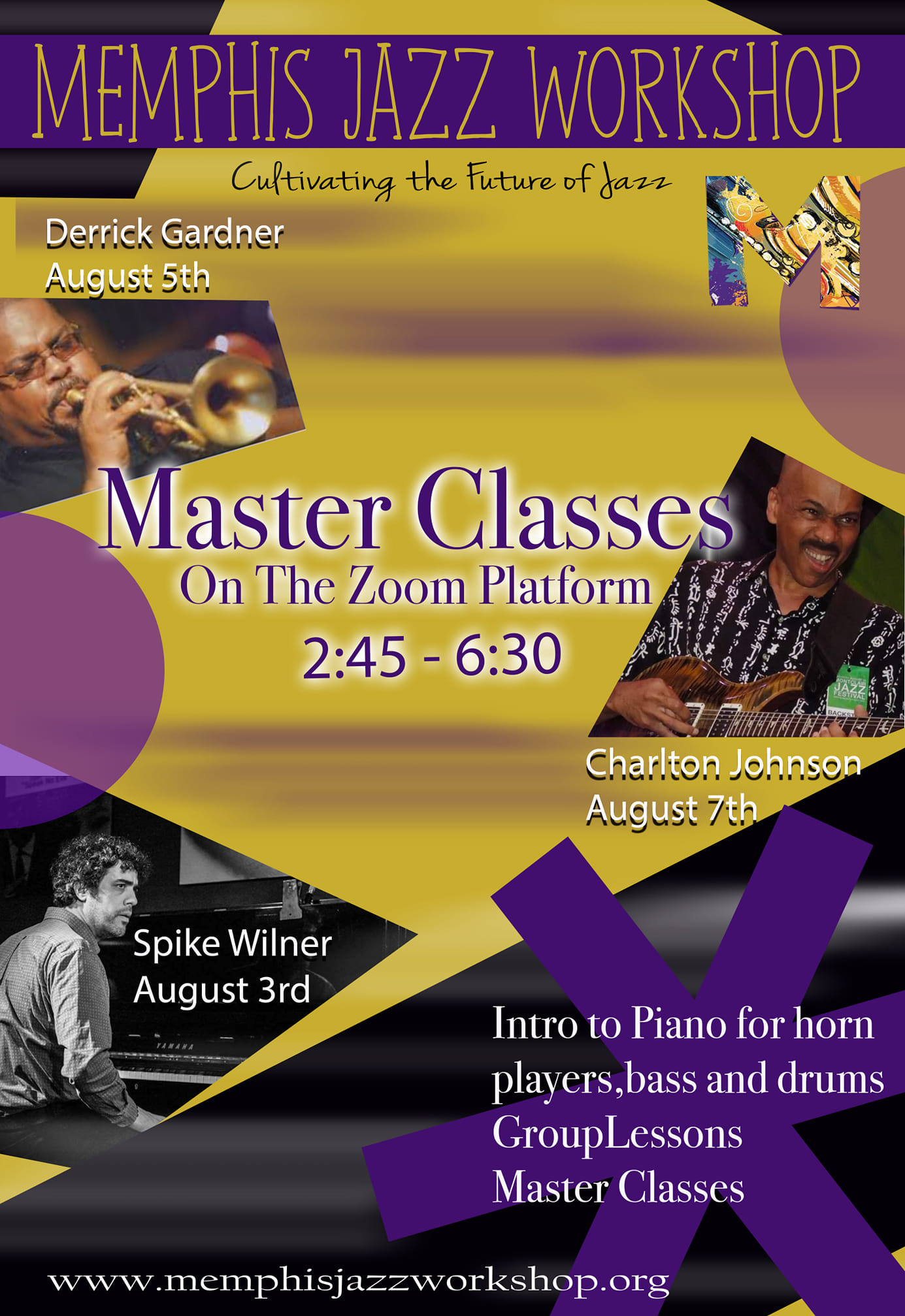 Piano Camp for Horn, Drum, and String players