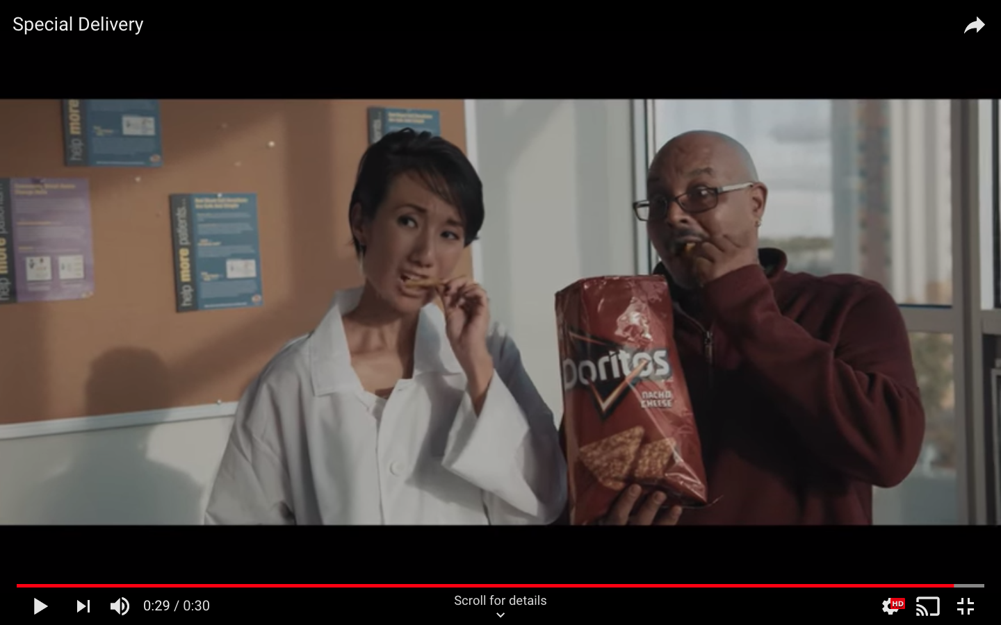 """Special Delivery"" Doritos Commercial"