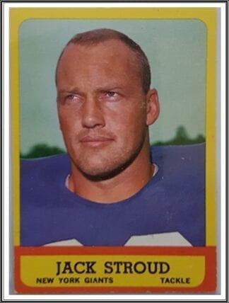 Jack Stroud Topps 1963