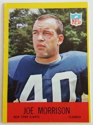 Joe Morrison Philadelphia 1967 Sports Trading Card