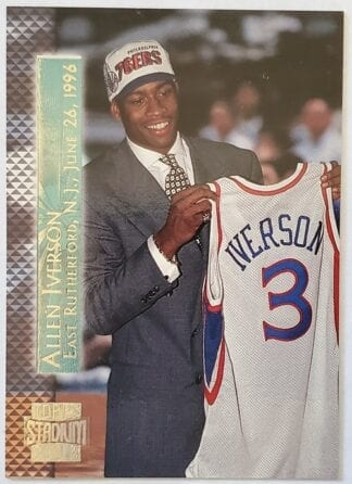 Allen Iverson TSC NBA card