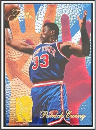 "Patrick Ewing Flair 1994 ""Rejector"" NBA Card #1 of 6"