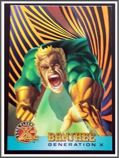 Banshee Fleer 1996 X Men
