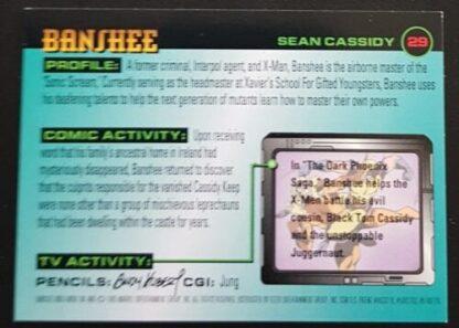 Banshee Fleer 1996 X-Men