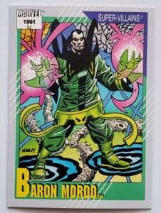 Marvel 1991 Super Villain Baron Mordo