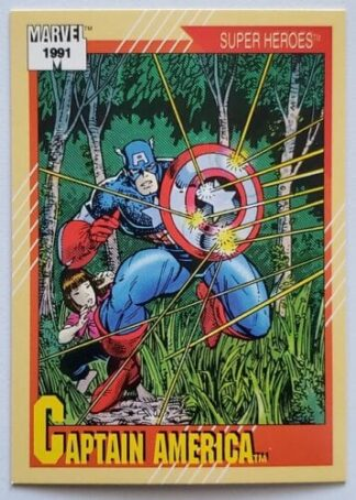 Marvel 1991 Captain America