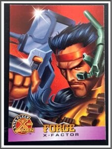 X-men Force Fleer Comic Card
