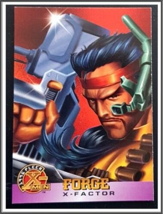 Force Fleer 1996 X-Men