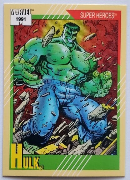 "Hulk Marvel 1991 ""Super Heroes"""