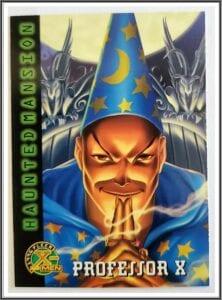 Professor X Fleer 1996 Trading Card