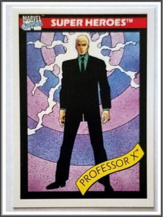 Marvel comics card 1990 Professor x