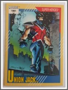Union Jack Marvel 1991 Super Hero