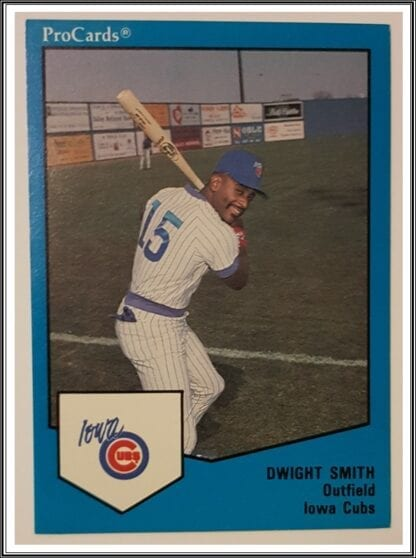 Dwight Smith ProCards 1989