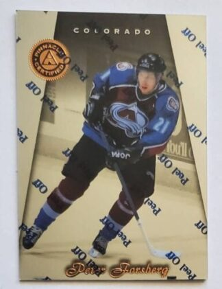 Peter Forsberg Pinnacle Certified 1997 NHL Card #32