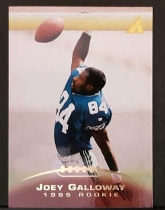 Joey Galloway Pinnacle 1995 Card #213
