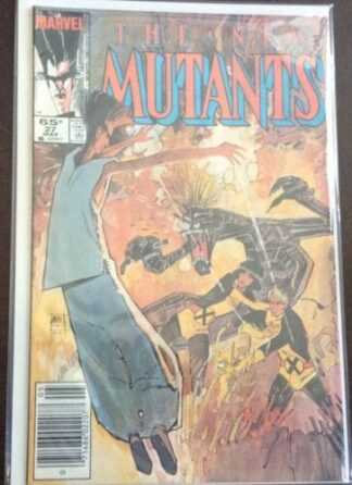 l The New Mutants Issue #77