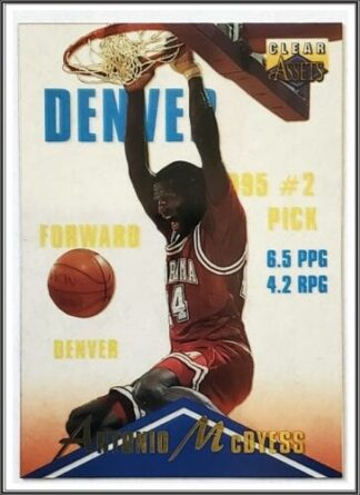 Antonio McDyess Classic Clear Assets 1996