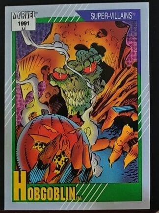 Hogoblin Marvel Comics 1991 Super Villain Trading Card #86