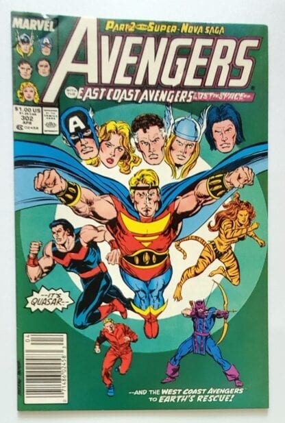 The Avengers Issue #302 April 1989