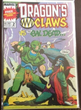 Dragon's Claws Issue #2