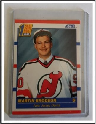 Martin Brodeur Score 1990 NHL Card #439 New Jersey Devils