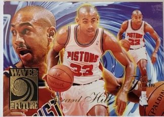 "Grant Hill Flair ""Wave Of The Future"" 1994-95 Basketball Card # 2 of 10"