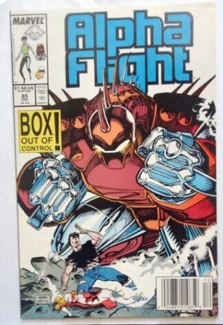 Alpha Flight Issue 65 December 1988