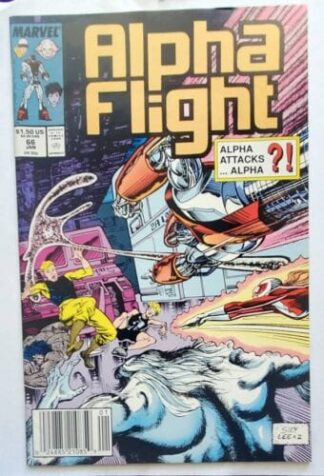 Alpha Flight Marvel Comics Issue #66 Jan. 1989 ""