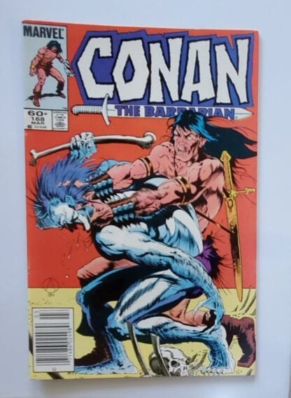 Marvel Comics Conan The Barbarian Issue 168