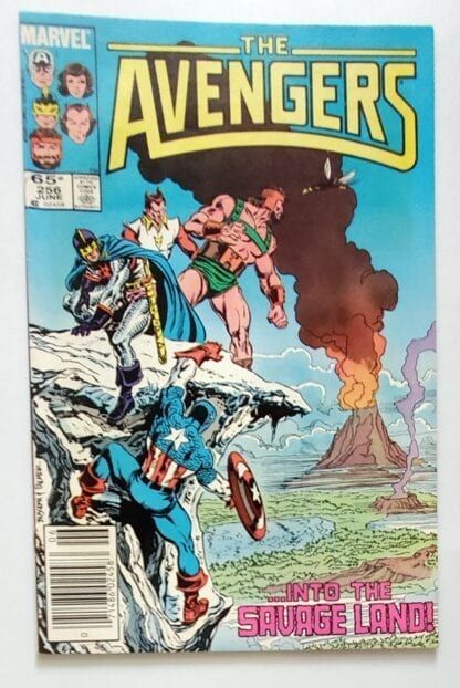 The Avengers Issue 256 June 1985