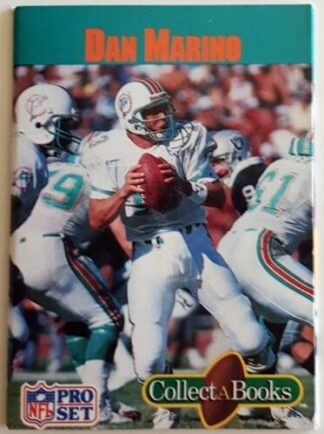 Dan Marino Pro Set 1990 Collect A Book