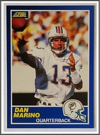 Dan Marino Score 1989 NFL card #13