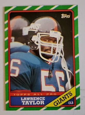 Lawrence Taylor Topps 1986 Card # 151