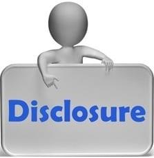 Disclosure Symbol