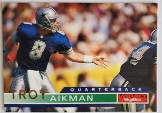 troy aikman Skybox Impact 1995